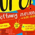 Plakat-UFO-Eroeffnung
